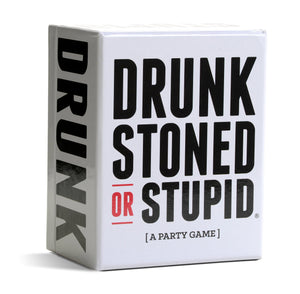 DRUNK STONED OR STUPID [A Party Game] - White Elephant Gift