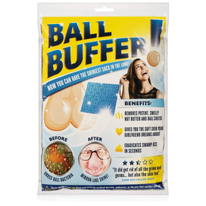 Laila and Lainey Ball Buffer - Novelty Prank or Gag Gift - White Elephant Gift Idea