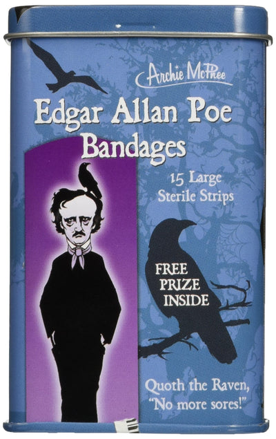 Accoutrements Edgar Allan Poe Bandages - White Elephant Gift