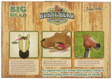 Load image into Gallery viewer, Accoutrements Horse Head Squirrel Feeder - White Elephant Gift