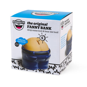 BigMouth Inc Fanny Bank Funny Farting Bank, Makes Noise, Funny Gag Gift - White Elephant Gift