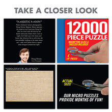 "Load image into Gallery viewer, Prank Pack ""12,000 Pieces Jigsaw Puzzle"" - Wrap Your Real Gift in a Prank Funny Gag Joke Gift Box - by Prank-O - The Original Prank Gift Box 