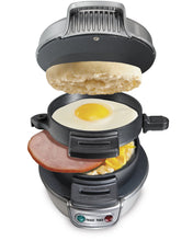 Load image into Gallery viewer, Hamilton Beach 25475A Breakfast Sandwich Maker - White Elephant Gift