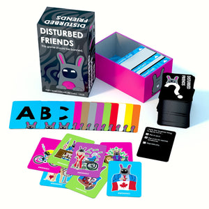 Disturbed Friends - This party game should be banned. - White Elephant Gift