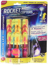 Load image into Gallery viewer, Rocket Copters - The Amazing Slingshot LED Helicopters - As Seen on TV - White Elephant Gift