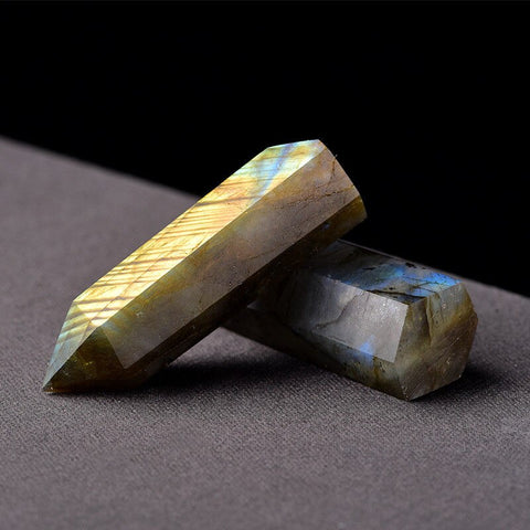 Natural Labradorite Wand (Choose Your Size)