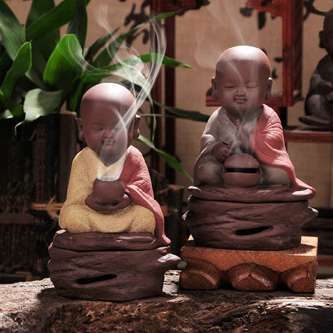 Buddhist Monk Incense Burner