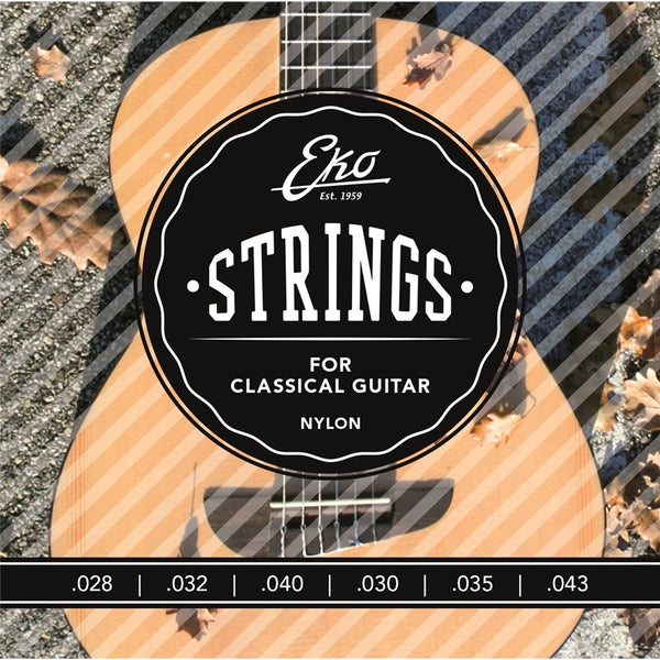 Eko Corde Chitarra Classica 28-43 Medium Tension Set/6