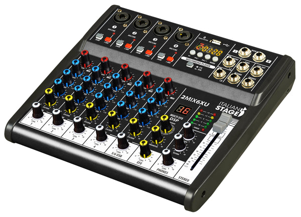 ITALIAN STAGE  IS 2MIX6XU MIXER PROFESSIONALE