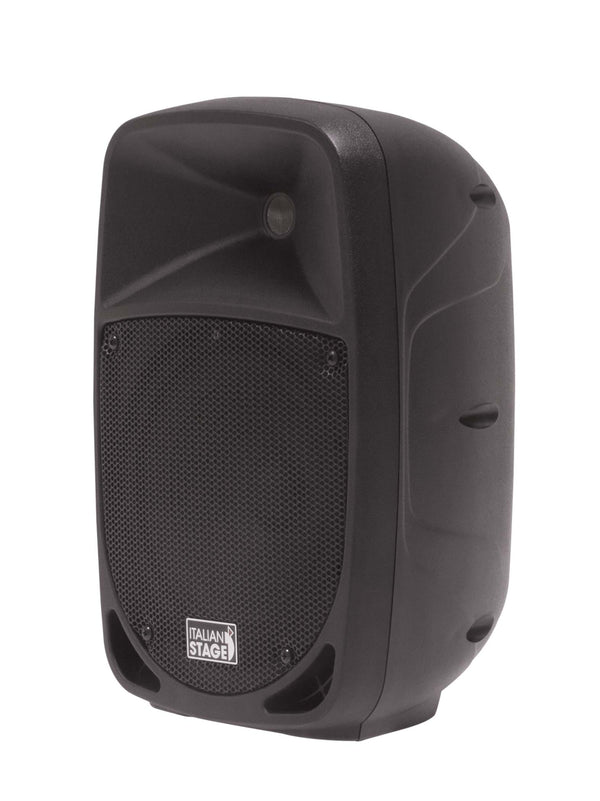 Italian Stage <p>8 Portable Speaker With Battery, Mp3 Player, Sd Card, Usb, Bluetooth, 1 Vhf Wireless Microphone</p>