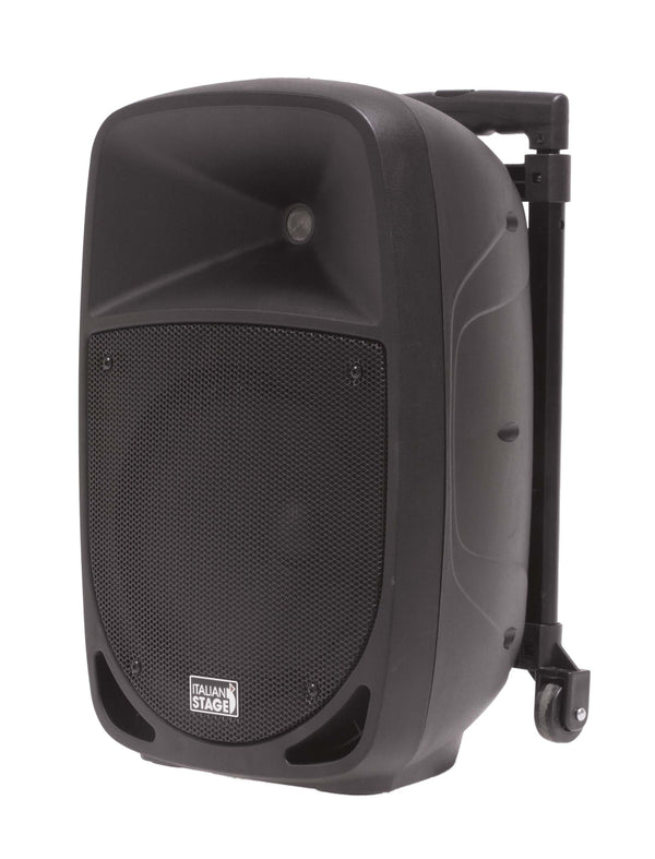 Italian Stage <p>10 Portable Speaker With Battery, Mp3 Player, Sd Card, Usb, Bluetooth, 1 Vhf Wireless Microphone</p>
