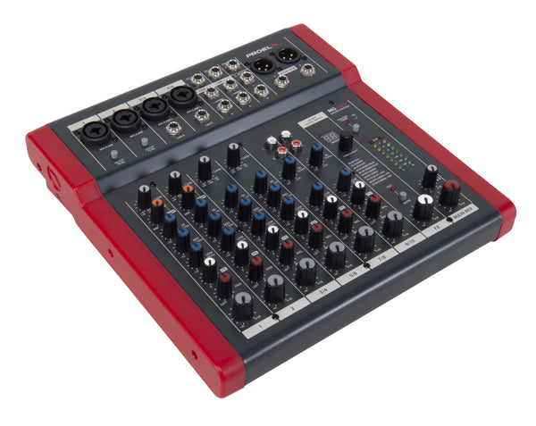 "Proel <p><span Style=""font-size: 13px;"">compact 10-channel Mixer With Fx</span></p>"