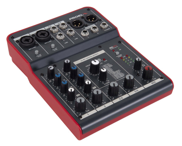 Proel <p>compact 6-channel  Mixer With Fx</p>