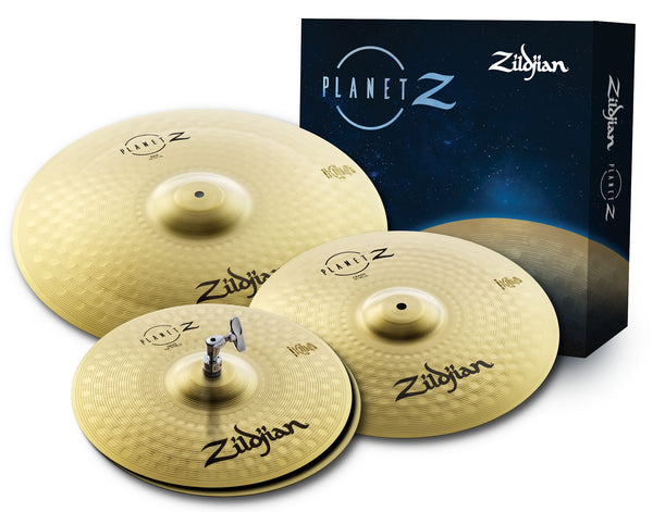 Zildjian Cartone 4 Planet Z (ZP4PK): ride + hi-hat + crash