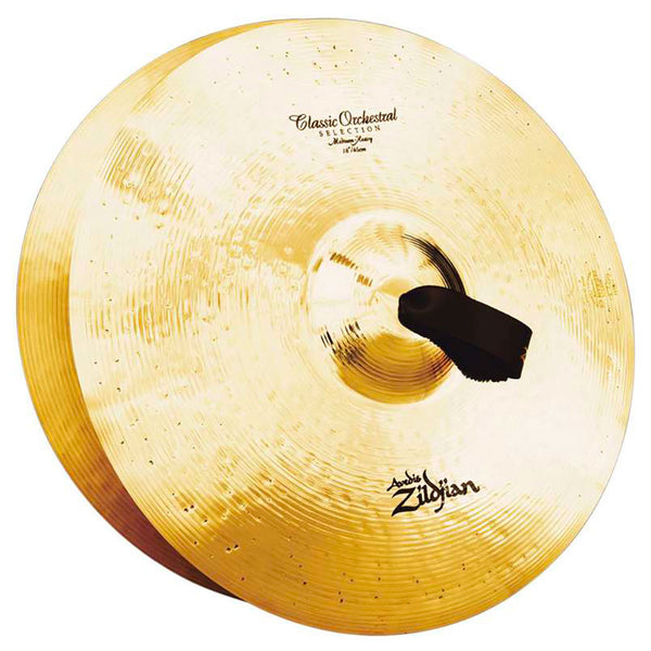 Zildjian  18'' Coppia Orchestral Selection Medium Heavy (cm. 45)