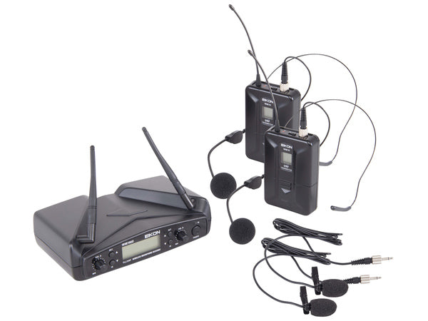 EIKON WM700DH  Dual Coppia Microfoni Wireless Archetto