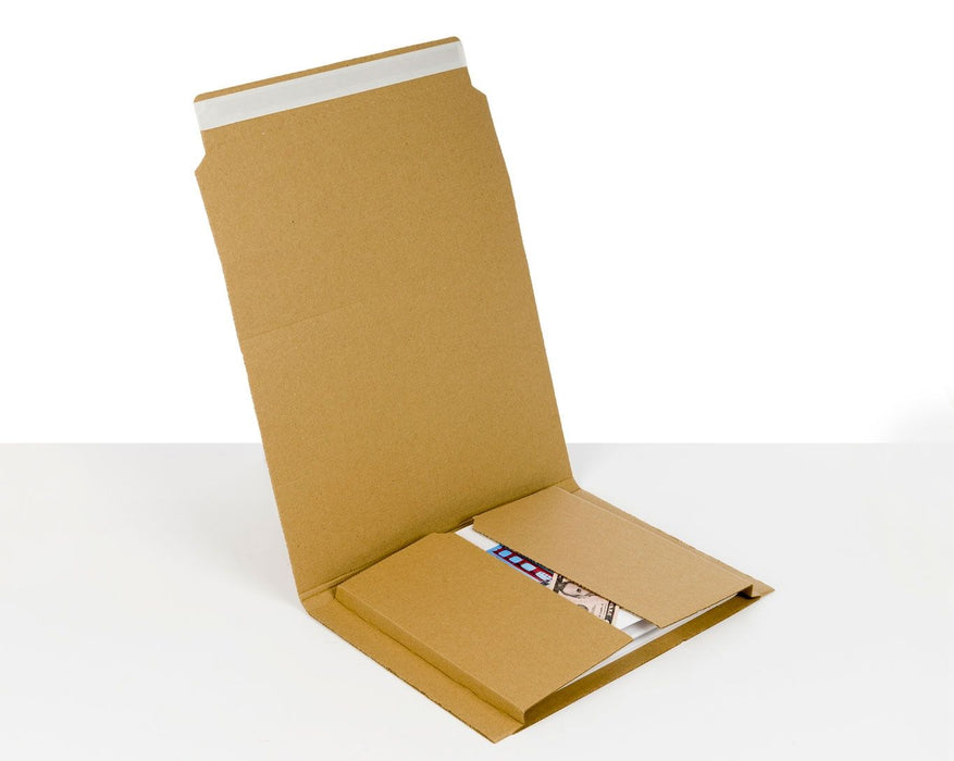100% Recycled Brown Book Wrap Mailers