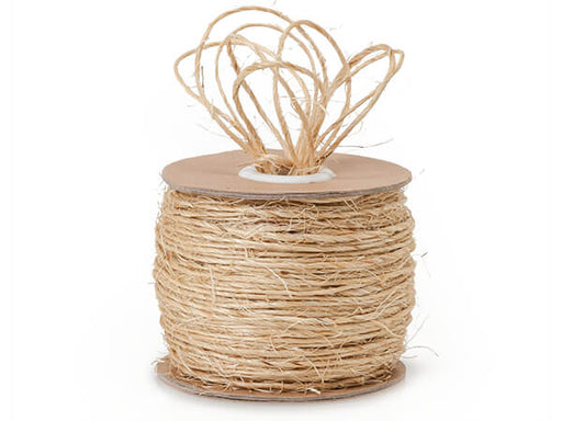 100% Jute Twine Natural Brown Sisal, Min. Order (Pack of 10 pieces)