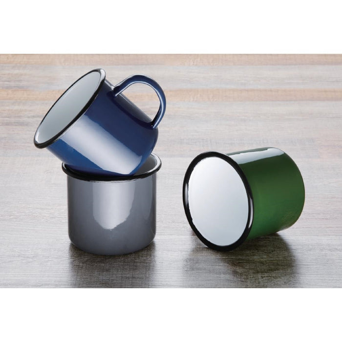 Reusable Enamel Stainless Steel Olympia Mug, Min. Order (Pack of 10 pieces)
