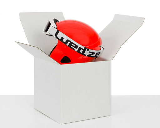 100% Recycled Cardboard Hat Box White 254x254x254mm, Min. Order (Pack of 15 pieces)