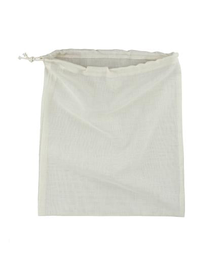 Reusable Organic Cotton Lightweight Drawstring Bag, Min. Order (Pack of 10 pieces)