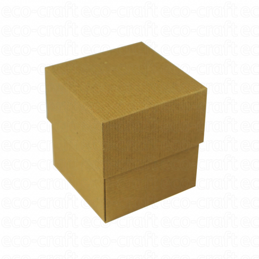 100% Recycled Ribbed Candle Boxes, Min. Order (Pack of 10 pieces)