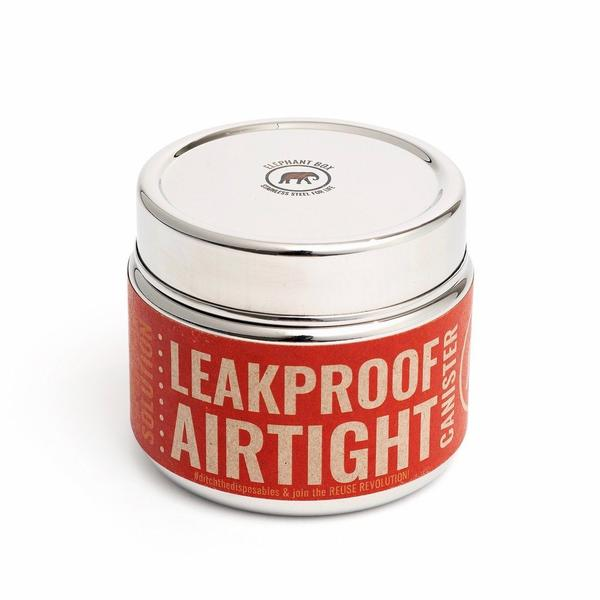 Reusable Stainless Steel Round leakproof & airtight canister 450ml, Min. Order (Pack of 10 pieces)