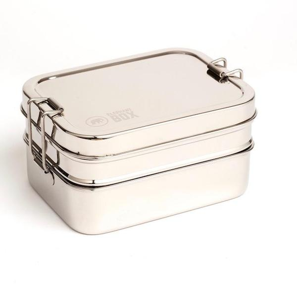 Reusable Stainless Steel Three in Snack Box, Min. Order (Pack of 10 pieces)