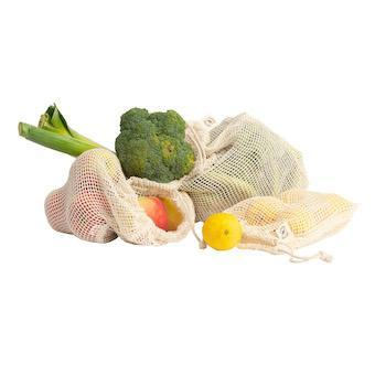 Reusable Organic Cotton Mesh Produce Bag, Min. Order (Pack of 10 pieces)