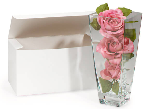 100% Recycled White Gift Boxes, Min. Order (Pack of 10 pieces)