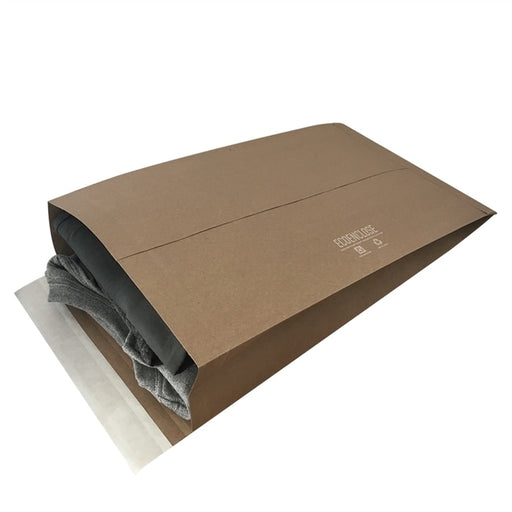 100% Recycled Gusseted Kraft Mailer, Min. Order (Pack of 10 pieces)