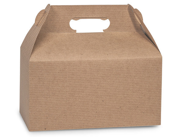 100% Recycled Kraft Gable Boxes, Min. Order (Pack of 10 pieces)