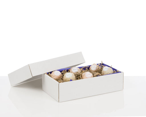 100% Recycled White Gift Boxes with Lid - The sustainable sourcing company