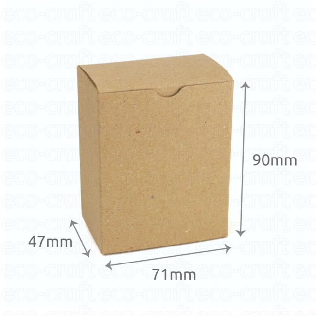 100% Recycled Hairy Manilla Boxes, Min. Order (Pack of 10 pieces)