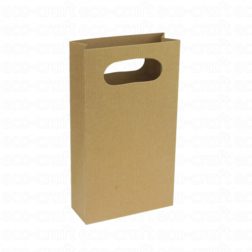 100% Recycled 100 x 180 x 40mm Gift Bags, Min. Order (Pack of 10 pieces)