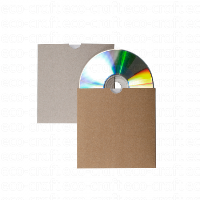 100% Recycled CD Sleeves, Min. Order (Pack of 10 pieces)