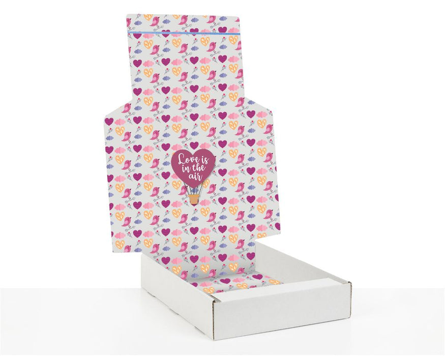 100% Recycled Boxes with Love is in the air - The sustainable sourcing company