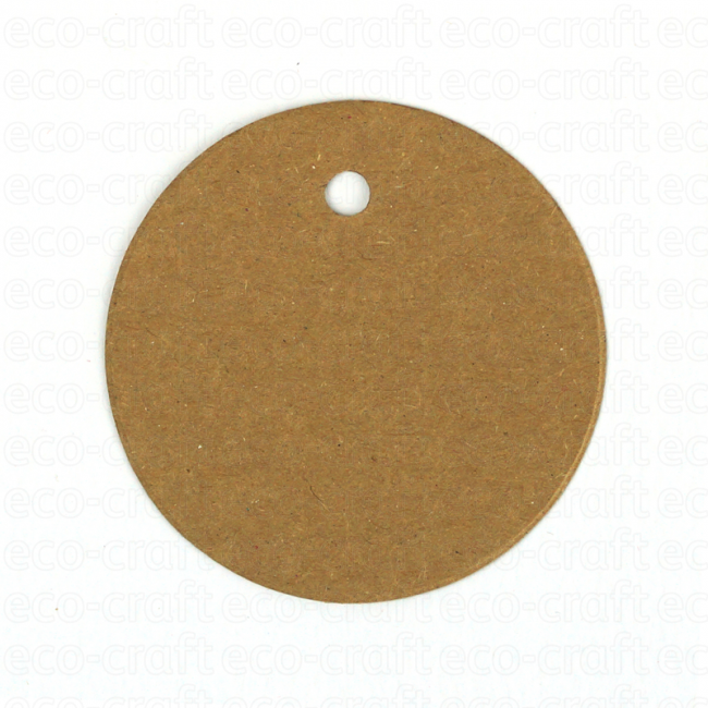 100% Recycled Circle Gift Tags, Min. Order (Pack of 10 pieces)