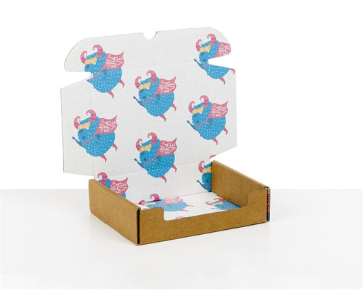 100% Recycled Boxes with Kids Monsters Print - The sustainable sourcing company