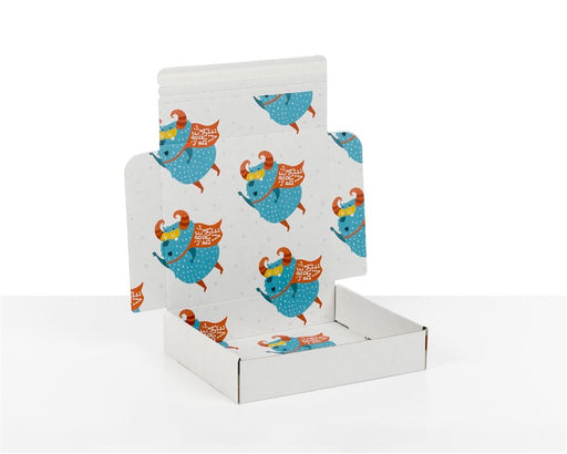 100% Recycled Boxes with Kids Monsters Print, Min. Order (Pack of 100 pieces)
