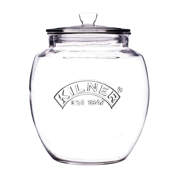 Reusable Glass Push Top Preserve Jar, Min. Order (Pack of 10 pieces)