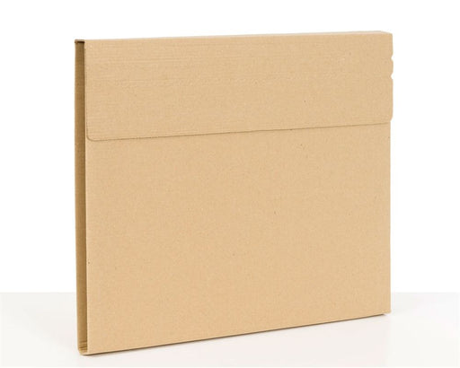 100% Recycled Brown Vinyl Record Mailers 318x318x13mm (L x W x H) - The sustainable sourcing company