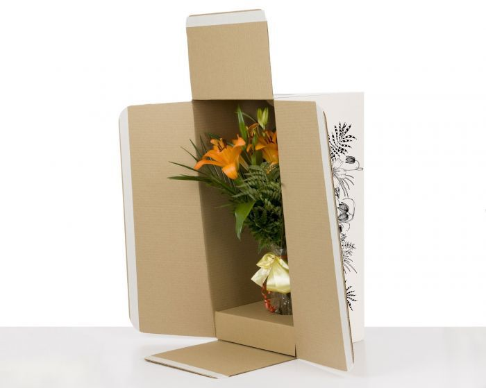 100% FSC Certified Flower Shipping Boxes