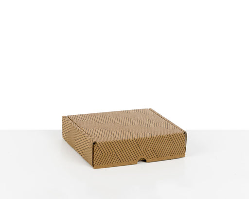 100% Recycled Boxes with Geometric, Min. Order (Pack of 100 pieces)