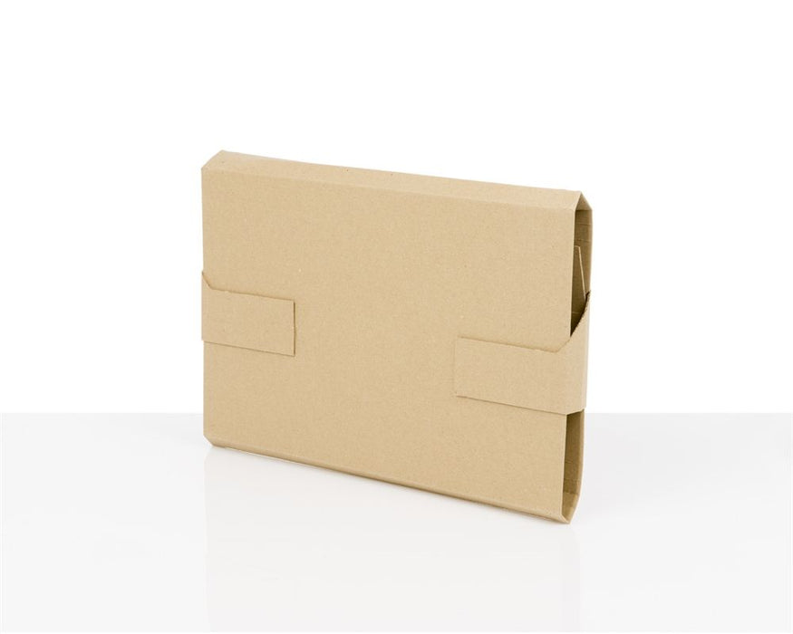 100% Recycled Brown Secure Mailer Box 310x220x60mm (L x W x H) - The sustainable sourcing company