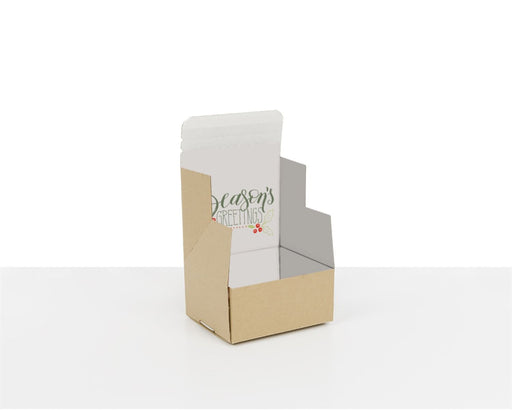 100% Recycled Boxes with Seasons Greetings, Min. Order (Pack of 100 pieces)