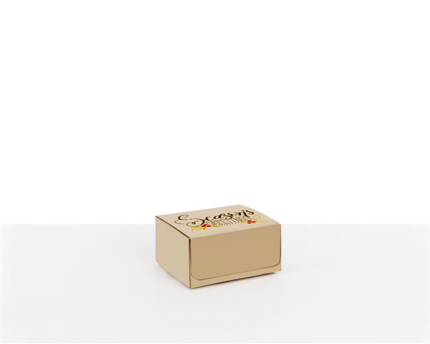 100% Recycled Boxes with Seasons Greetings - The sustainable sourcing company