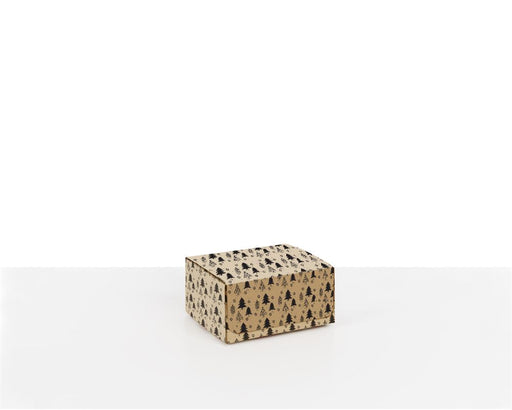 100% Recycled Boxes with Christmas Trees, Min. Order (Pack of 100 pieces)