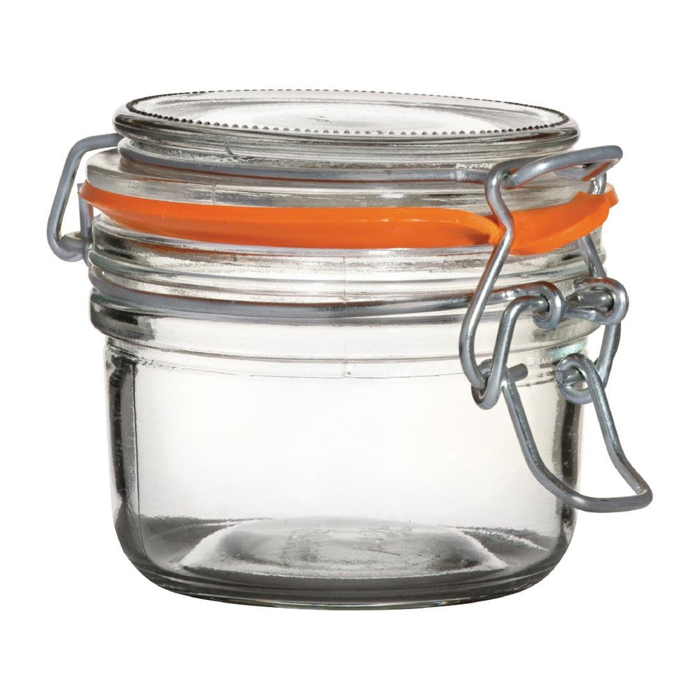 Reusable Glass Utopia Preserve Jars 125ml, Min. Order (Pack of 10 pieces)