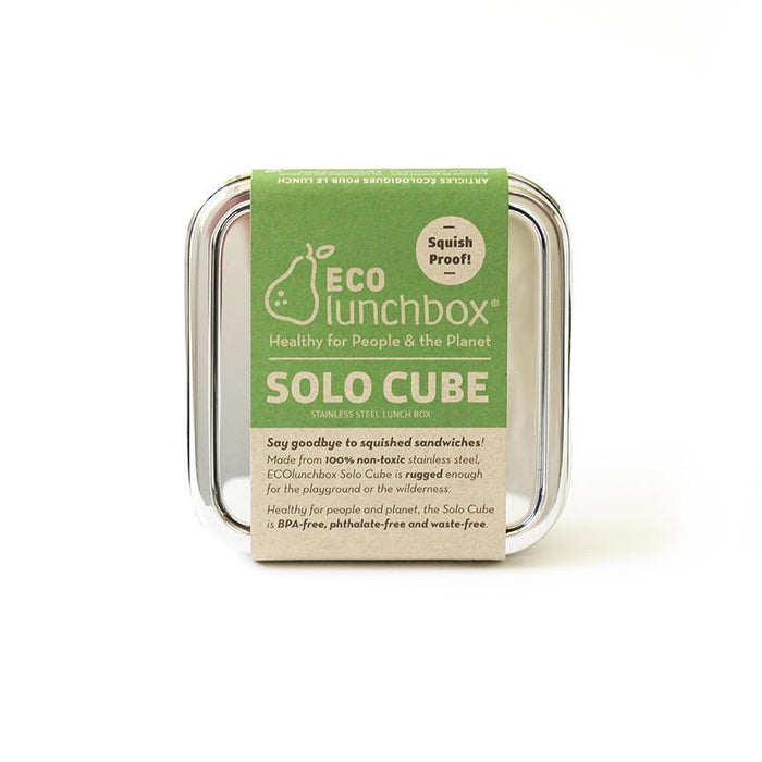 Reusable Stainless Steel Solo Cube Box, Min. Order (Pack of 10 pieces)